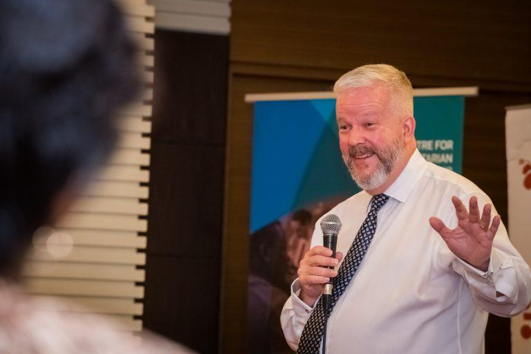 2018 HL Graduates symposium Swiss Gardens Hotel Kuala Lumpur Malaysia Michael Jenkins Keynote speaker