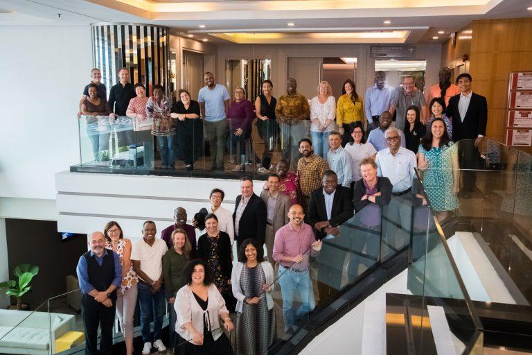 2018 HL Graduates Symposium Group photograph Swiss Gardens Hotel